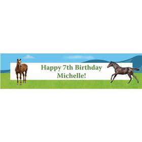 Pony Party Personalized Banner (each)