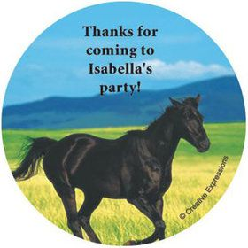 Pony Party Personalized Stickers (sheet of 12)