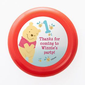 Pooh Personalized Mini Discs (Set Of 12)