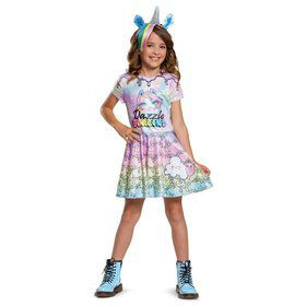 Poopsie Unicorn Dazzle Darling Deluxe Child Costume