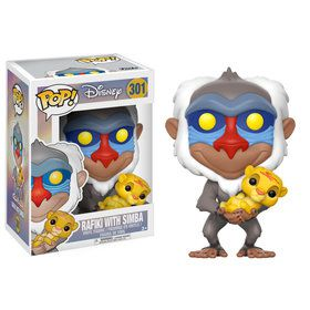Funko POP Disney: Lion King - Rafiki holding baby Simba