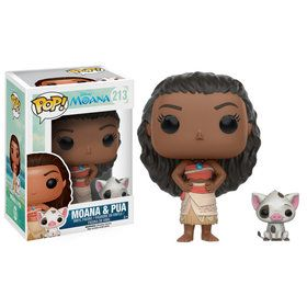 Funko POP Disney: Moana - Moana & Pua