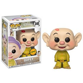 Funko POP Disney: Snow White - Dopey with Kiss