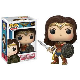Funko POP Heroes: DC - Wonder Woman - Wonder Woman with Sword