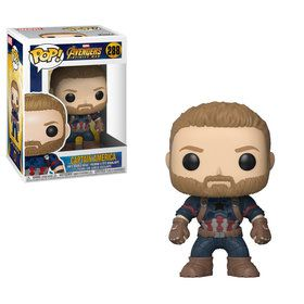 Funko POP Marvel Avengers: Infinity War - Captain America