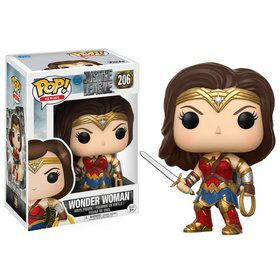 Funko POP Movies: DC - Justice League - Wonder Woman