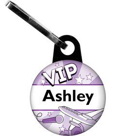 Pop Star Personalized Zipper Pull (each)