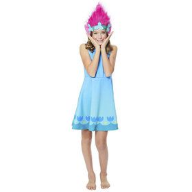 Poppy Girl's Trolls World Tour Dress Costume
