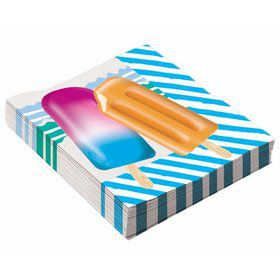 Popsicle Party Lunch Napkin (16)