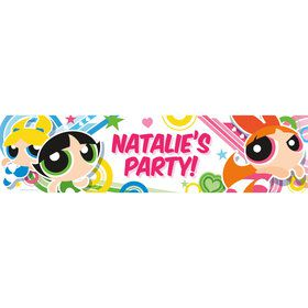 Powderpuff Girls Personalized Banner (Each)