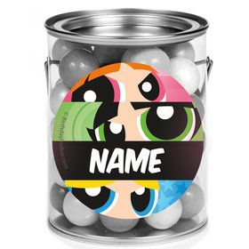 Powderpuff Girls Personalized Mini Paint Cans (12 Count)