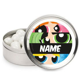 Powderpuff Girls Personalized Mint Tins (12 Pack)