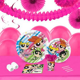 Power Puff Girls 16 Guest Tableware Deco Kit