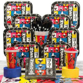Power Rangers Deluxe Kit (Serves 8)