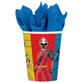 Power Rangers Ninja Steel 9oz Paper Cups (8 Count)