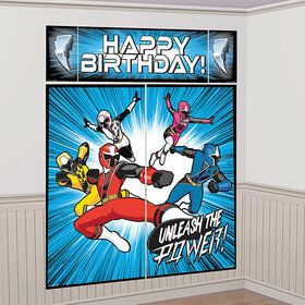 Power Rangers Ninja Steel Scene Setter Wall Decoration