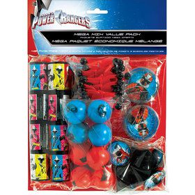 Power Rangers Value Pack Favor Set (48 Pieces)