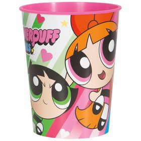 Powerpuff Girls 16oz Plastic Favor Cup (Each)