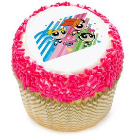 "Powerpuff Girls 2"" Edible Cupcake Topper (12 Images)"