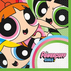 Powerpuff Girls Luncheon Napkins (16 Count)