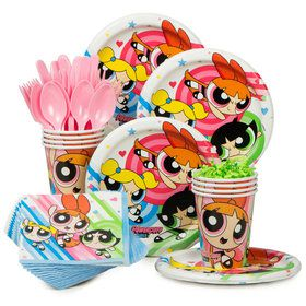 Powerpuff Girls Standard Tableware Kit (Serves 8)