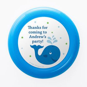 Preppy Blue Ocean Party Personalized Mini Discs (Set of 12)