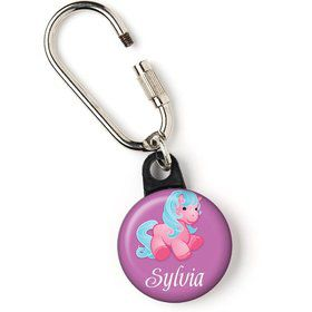 "Pretty Pony Personalized 1"" Carabiner (Each)"