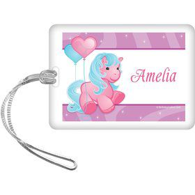 Pretty Pony Personalized Bag Tag (each)