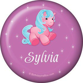 Pretty Pony Personalized Magnet (each)