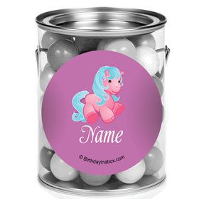 Pretty Pony Personalized Mini Paint Cans (12 Count)