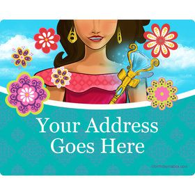 Princesa Personalized Address Labels (Sheet of 15)