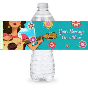 Princesa Personalized Bottle Label (Sheet of 4)