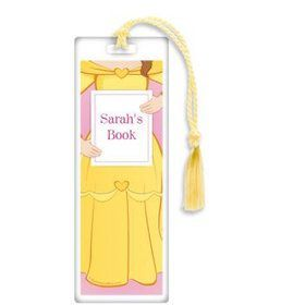 Princess & Beast Personalized Bookmark (each)