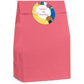Princess & Beast Personalized Favor Bags (Pack Of 12)