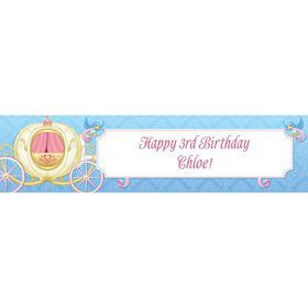 Princess Coach Personalized Banner (each)
