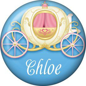 Princess Coach Personalized Mini Magnet