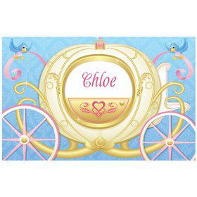 Princess Coach Personalized Placemat