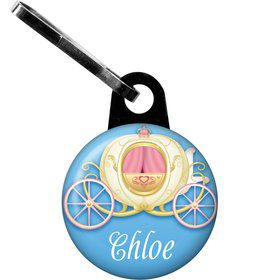 Princess Coach Personalized Zipper Pull