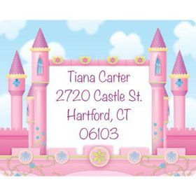 Princess Personalized Address Labels (sheet of 15)