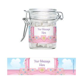 Princess Personalized Glass Apothecary Jars (10 Count)