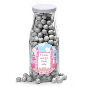 Princess Personalized Glass Milk Bottles (12 Count)