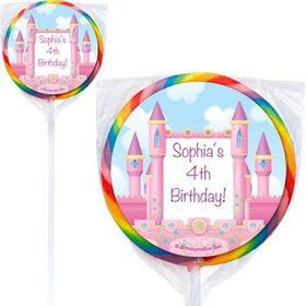 Princess Personalized Lollipops (pack of 12)