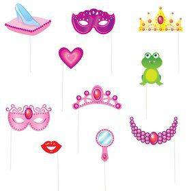 Princess Photo Props Set (10 Pack)