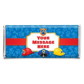 Pup Command Personalized Candy Bar Wrapper (Each)