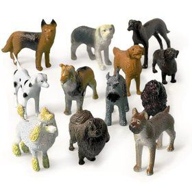 Puppy Dog Figures (12 Pack)