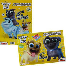 Puppy Dog Pals Giant Coloring and Activity Book (1)