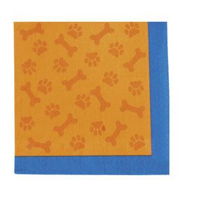 Puppy Party Beverage Napkins (16)
