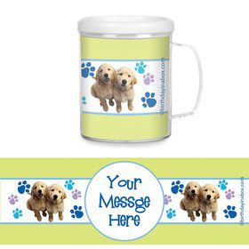 Puppy Party Personalized Favor Mugs (Each)