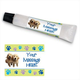 Puppy Party Personalized Hand Sanitizer Kit (24 Pack)