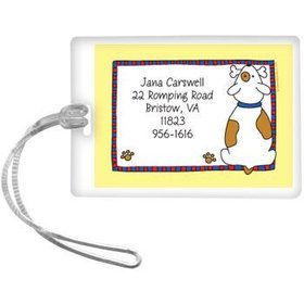 Puppy Personalized Luggage Tag (each)